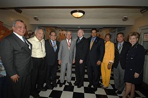 Ken Salazar with governors and delegates