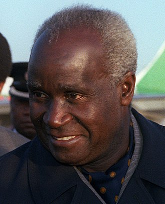 Kenneth Kaunda - Kaunda during an official visit to the United States in 1983.