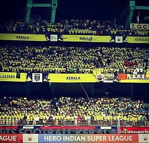 Kerala Blasters FC - Kerala Blasters supporters