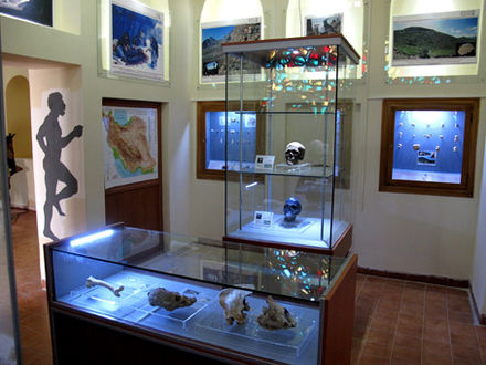 An archaeology museum at Kermanshah, Iran Kermanshah Paleolithic Museum.jpg