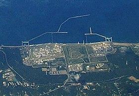 Kernkraftwerk Kashiwazaki Kariwa aus der Luft