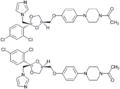 Ketoconazol-Enantiomere Strukturformeln.png