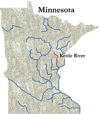 Kettle River (St. Croix River) - The Kettle River