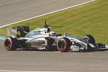 Kevin Magnussen 2014 Jerez test (28-31 Jan) Day 3