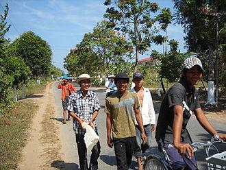 Khmer Krom - Image: Khmer Krom in Trà Vinh