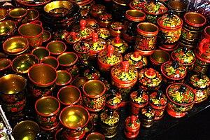 Khokhloma - Image: Khokhloma Hochloma 20090814 02