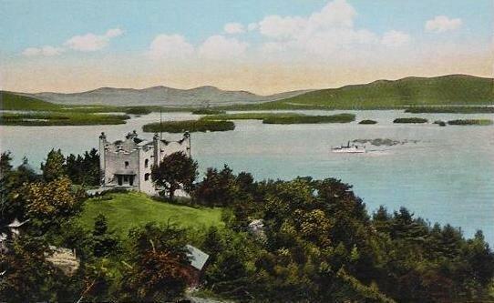 Kimball Castle and Lake Winnipesaukee c. 1920