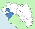 Kindia Region Guinea locator.png