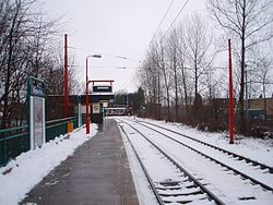Kingston Park Metro station, 2 January 2010.jpg