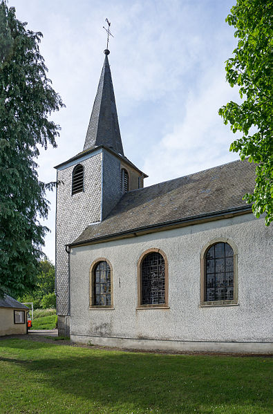 Church of Wolwelange, Luxembourg