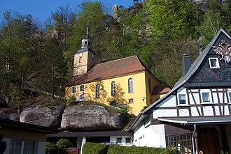 Oybin - Image: Kirche in Oybin