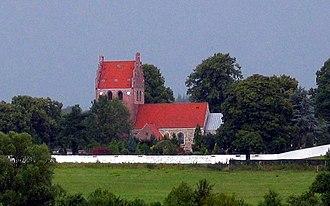 Værløse - Image: Kirke Værløse Kirke 2005 syd