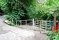 Kissing Gate at one entrance to Pithill or Erme Woods - geograph.org.uk - 880478.jpg