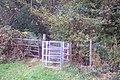 Kissing Gate near Bowzell Wood - geograph.org.uk - 1537990.jpg