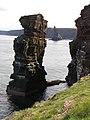 Knee Sea Stack - geograph.org.uk - 1542292.jpg