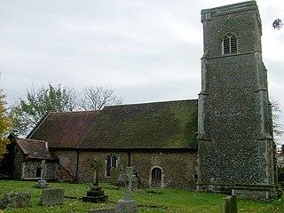 Knodishall Village in the United Kingdom