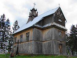 Kościół Podwyższenia Krzyża św. w Sokołach.JPG