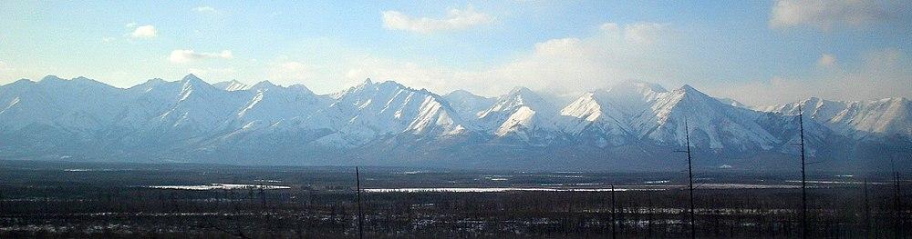 Хребет Кодар Забайкальского края Восточной Сибири