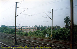 Line 1, Kolkata Metro - Kolkata Metro near Dum Dum