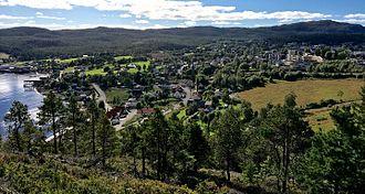Kolvereid - View of the town