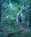 Kompoziciya na temu povesti AS Pushkina Baruyshnyakrestyanka 1934 by Vasiliy Milioti.jpg