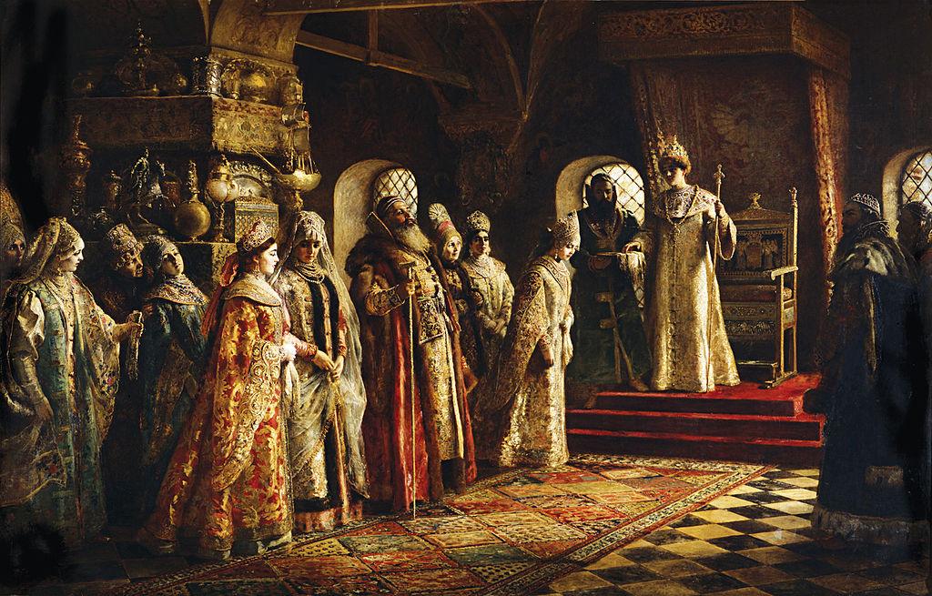 Konstantin Makovsky - Escogiendo la novia