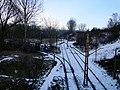 Kopiec Wandy tram track loop Kraków, 2016.JPG