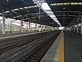 Koshigaya Station platforms 20160812.jpg