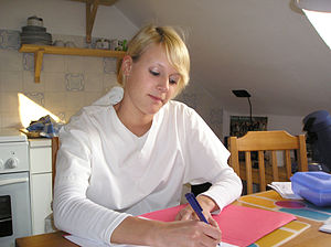 A German nurse in 2005.