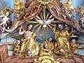Krems Piaristenkirche - Hochaltar 7 Dreifaltigkeit.jpg