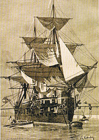 Image illustrative de l'article SMS Leipzig (1875)