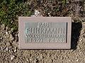 Kriegsopferfriedhof Kloster Arnsburg Grabstein Paul Fuhrmann, Volkssturmmann.JPG