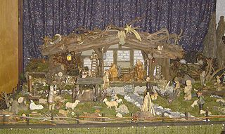 A German nativity scene (click for attribution and license)