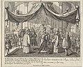 Kroning van Karel VI tot koning van Bohemen De Krooning van zyn Rooms Keyserlyke Majesteyt Carel de VI in Praag tot Koning van Boheemen, op den 5 Sept. 1723 waar op de krooning van de Keyserin tot Koningin van Boheemen , RP-P-1907-2119.jpg