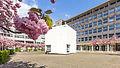 Kubus Haus der Architektur Köln, Josef-Haubrich-Hof, Kirschblüte-9700.jpg