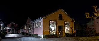 Kulturfabrik Esch-sur-Alzette (Luxembourg) - Kufa by night.