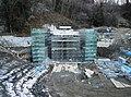 Kumeji No. 2 river tunnel under construction 2014-01.jpg