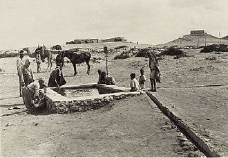 Raid on Nekhl - Kuseimeh also known as el Kossaima