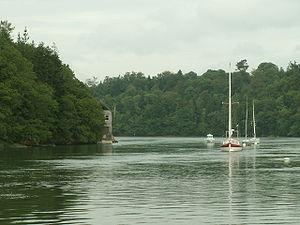 Odet - The Odet at high tide.