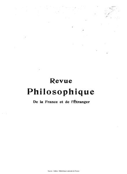 File:Lévy-Bruhl - Revue philosophique de la France et de l'étranger, 85.djvu