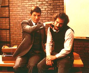 Michael J. Freeman - Leonard Nimoy giving Dr. Freeman the Vulcan nerve pinch