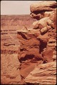 LOOKING OUT AT CANYONLANDS FROM DEAD HORSE POINT - NARA - 545595.tif