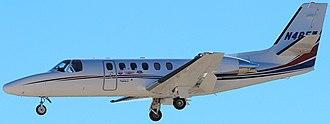 Cessna Citation family - model 550 Citation II