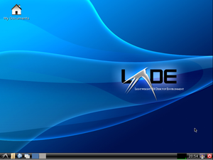 Base LXDE desktop, taken from lubuntu-9.10_lyn...