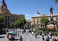 LaPaz Plaza Pedro Di Murillo 10.2004.jpg