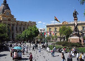 LaPaz Plaza Pedro Di Murillo 10.2004