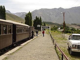 Esquel, Argentina - Image: La Trochita 20En Estacion Esquel 1