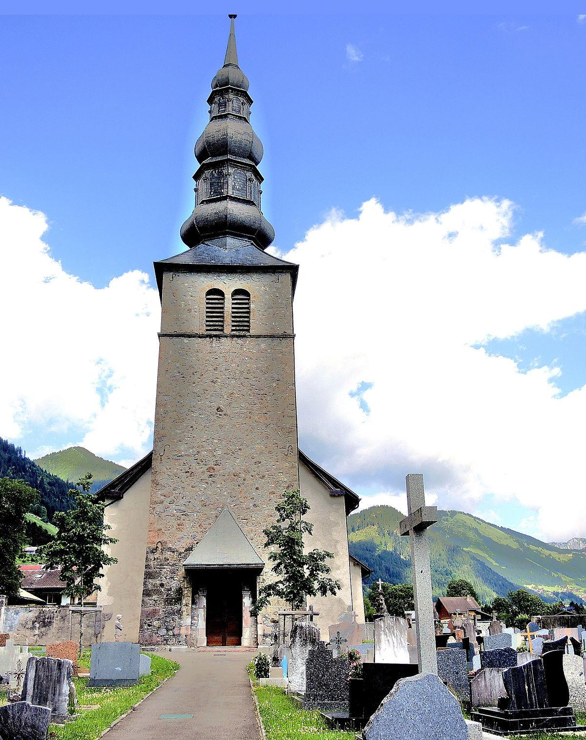 Glise saint maurice de la chapelle d 39 abondance wikip dia - Office du tourisme chapelle d abondance ...