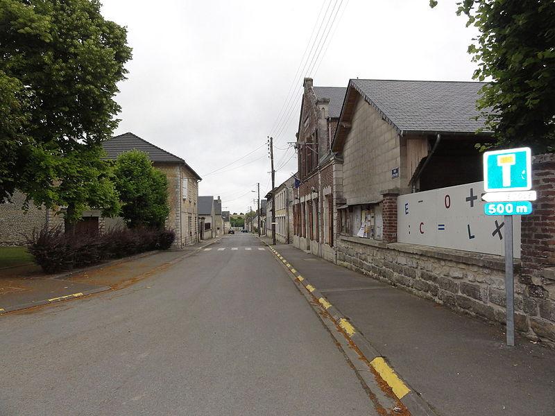 La Malmaison (Aisne) Rue d'en Bas