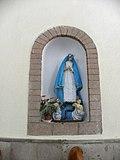 La Virgen María parroquia Santa Cruz Acalpixca, Xochimilco, México.JPG